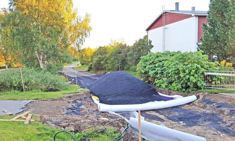 Gång och cykelväg Morö Backe